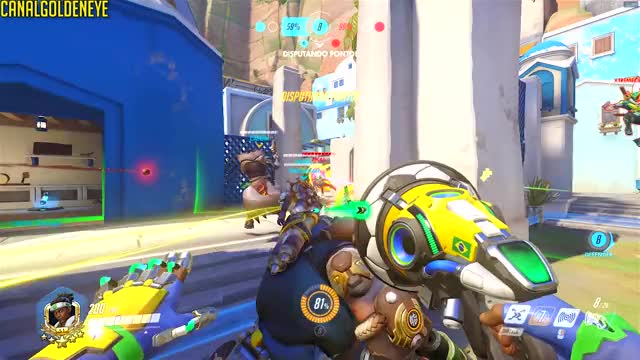 Watch and share Overwatch GIFs and Funny GIFs by GoldenEye89 on Gfycat