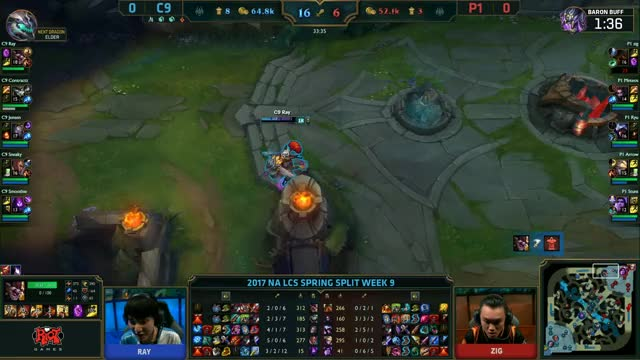 NA LCS: Cloud9 vs. Phoenix1