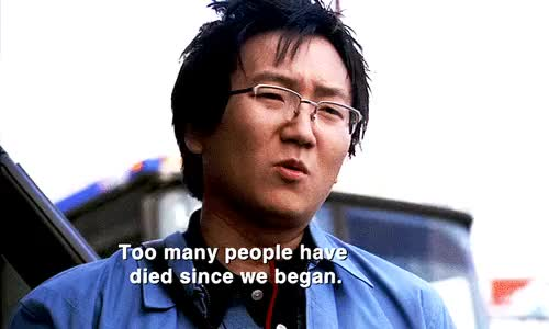 "Watch ""Hiro, Please."" GIF on Gfycat. Discover more and that's canon, and this is why i love them, because without ando, but really it's something strong, canon shows so many times how much these two love each other, dammit these scene, hirando, hiro leaving ando behind because he just couldn't bear to lose him, hiro nakamura, hiro never would have gotten very far, how far they would go to keep each other safe..., i love it so much, i will forever stand by the fact that ando masahashi is such an important character in heroes, if one of them died the other would lose it, my gifs, nakamuraftw, on the surface they have a cute dorky little relationship, otp: dorks in love, primatech, really strong GIFs on Gfycat"