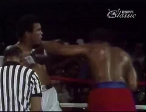 Watch and share Muhammad Ali Vs. George Foreman - Final Punch GIFs on Gfycat