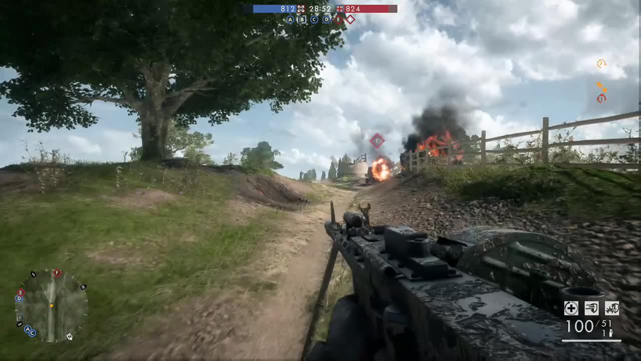 Battlefield1, BelovedSn1per, xbox, xbox dvr, xbox one, Perfect timing GIFs