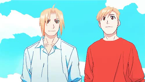 Watch ties GIF on Gfycat. Discover more *gif, 100plus, MY BABIES LOOK AT THEM ALL HUMAN AND IN ONE PIECE I CRY, alex makes stuff, alphonse elric, also hello older more muscular ed puberty did a great job 4 u, edward elric, fma, fmaedit, fullmetal alchemist brotherhood, manga/anime GIFs on Gfycat