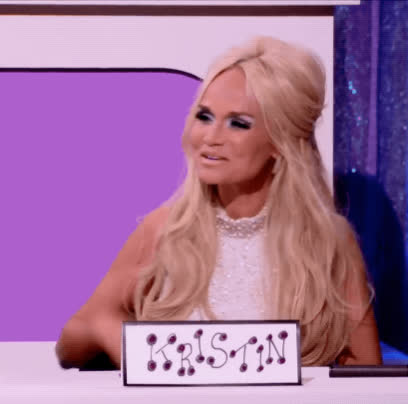all stars 3, drag race, i love you, kiss, kisses, kristin chenoweth, rupaul, Kristin Chenoweth Kiss GIFs