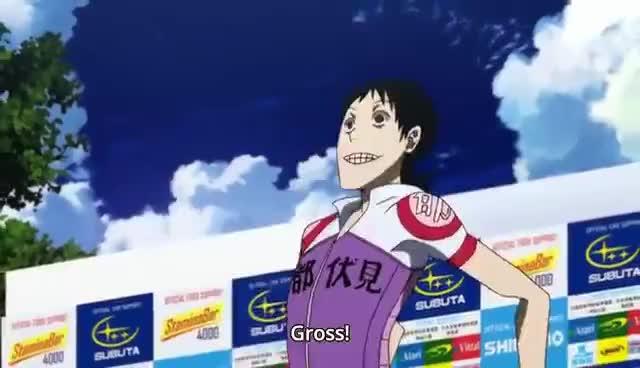 gross, midousuji, midousuji akira, GROSS GROSS GROSS!! GIFs