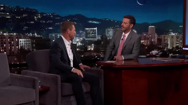 Watch and share Jimmy Kimmel Live GIFs and Clint Eastwood GIFs on Gfycat