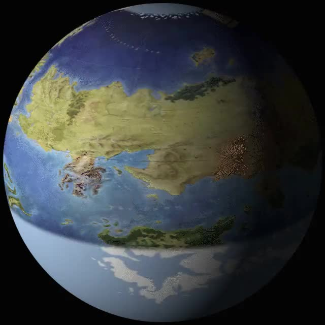 Watch (No Spoilers)No one asked for it, but here it is: Planetos globe. (reddit) GIF on Gfycat. Discover more asoiaf GIFs on Gfycat