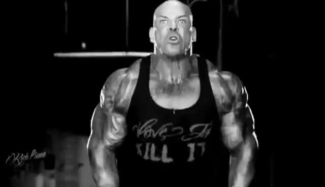 Watch and share HAMMERS AND NAILS - Makaveli Motivation - Rich Piana GIFs on Gfycat