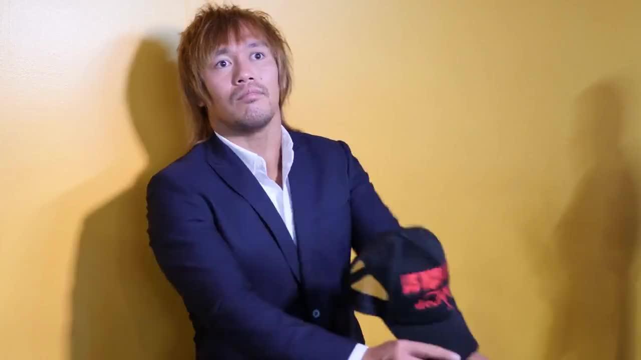 NJPW, Jonsuya Naito Returns Part One. GIFs