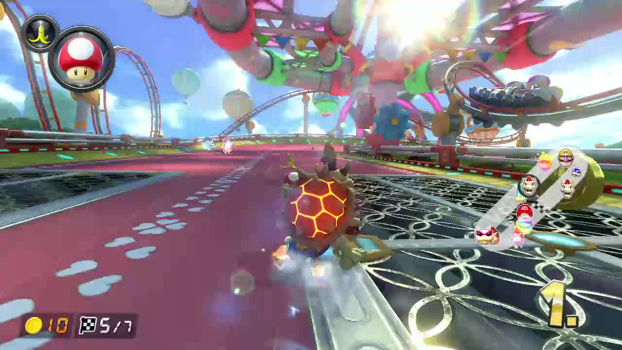 Dodged a blue shell that I couldn't even see GIFs