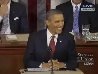 Obama's Joke, Chaffetz's Rimshot, 1/24/12