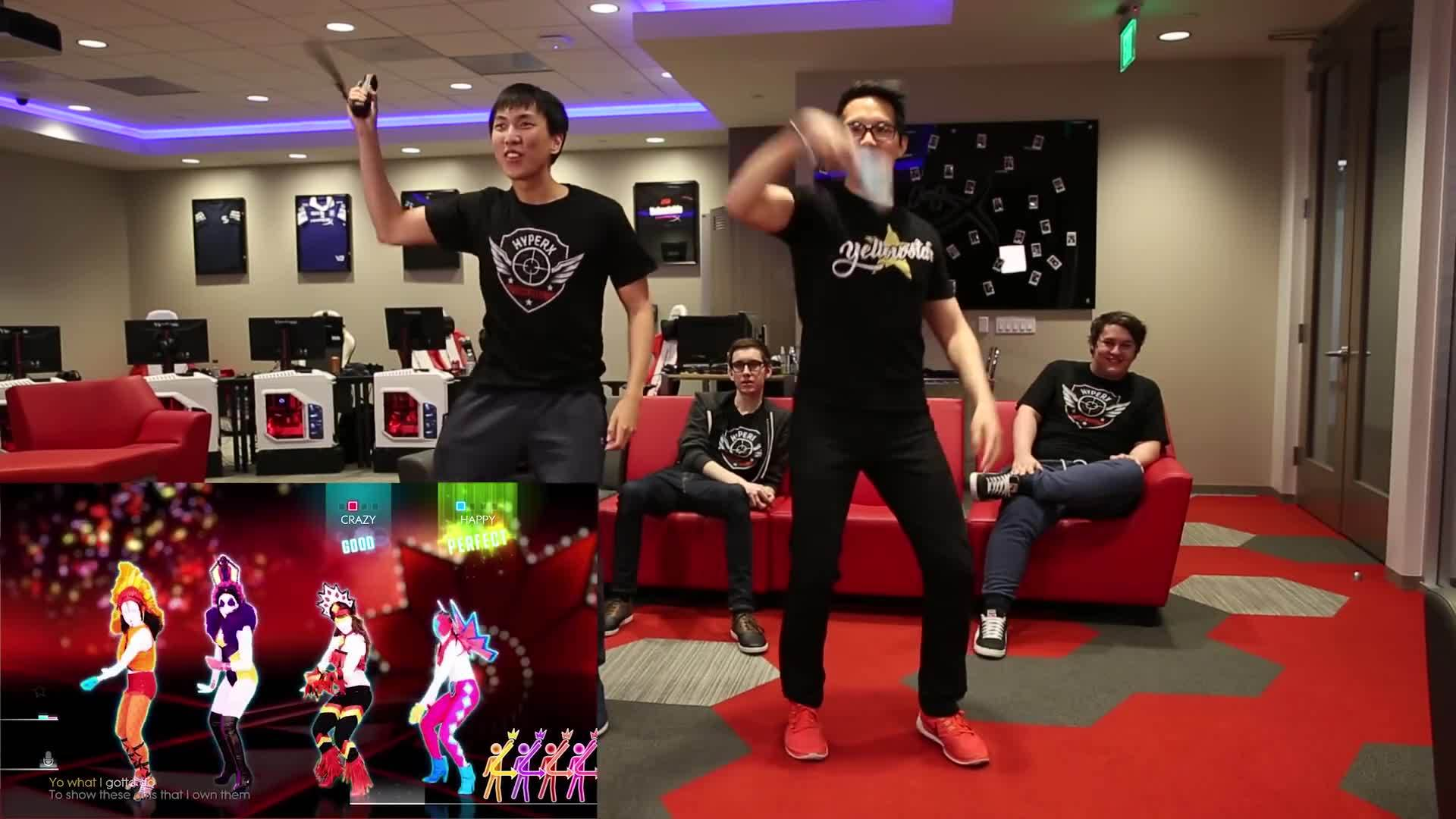 justdance, teamsolomid, tsm, TSM Just Dance | HyperX Moments GIFs