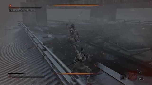 Watch and share Leaping Kick Genichiro GIFs on Gfycat
