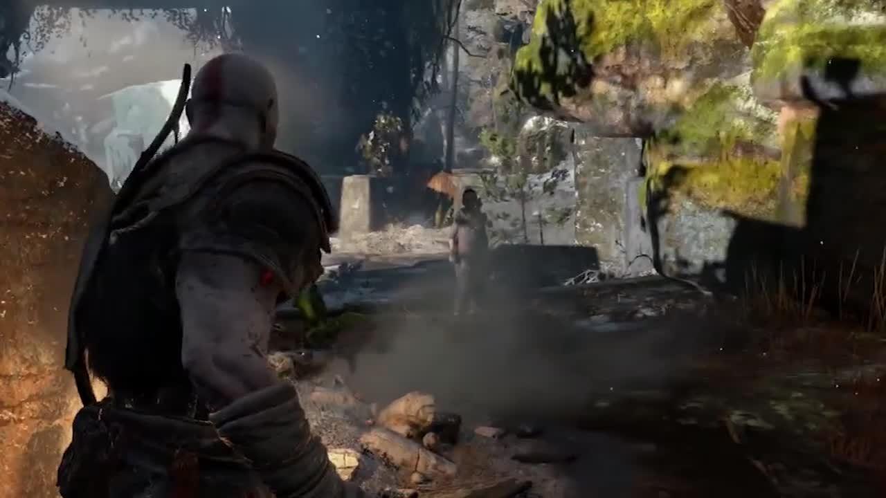 GodOfWar, gaming, God Of War - Loki? GIFs