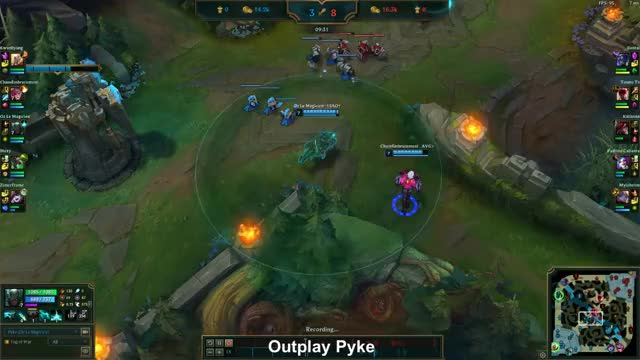 Watch and share Pyke Outplay Leesin GIFs by ozlemagicien on Gfycat