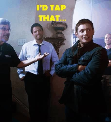 Watch and share Supernatural Gifs GIFs and Dean Winchester GIFs on Gfycat