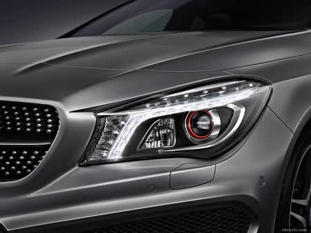 Watch and share GIF Of The Day: Mercedes-Benz CLA Headlights GIFs on Gfycat