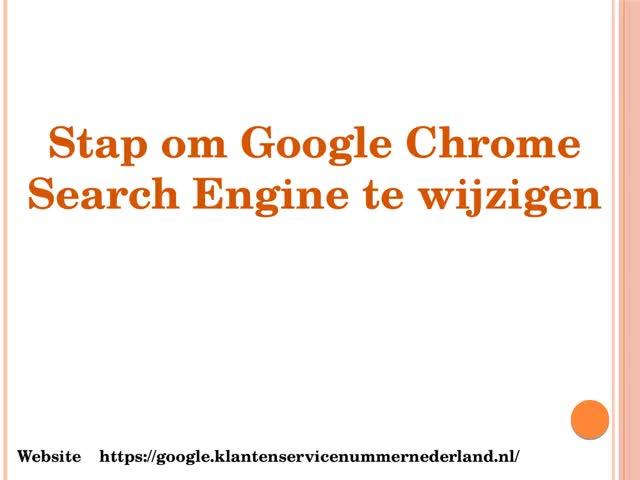 Watch and share Hoe De Zoekmachines Van Google Chrome Te Veranderen? GIFs by martinsomya on Gfycat
