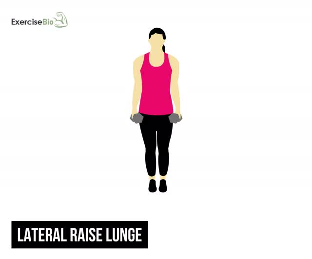 Watch and share Lateral-Raise-Lunge GIFs on Gfycat