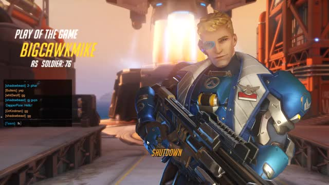 Watch and share Soldier 76 GIFs and Overwatch GIFs on Gfycat