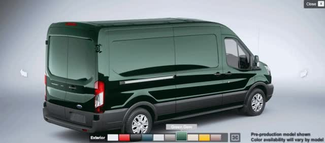 Watch and share GREEN FORD Transit Cargo Van GIFs on Gfycat