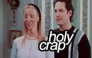 Watch Holy Crap GIF on Gfycat. Discover more lisa kudrow GIFs on Gfycat