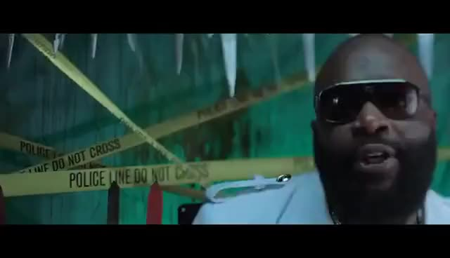 Skrillex Rick Ross Purple Lamborghini Official Video Gif