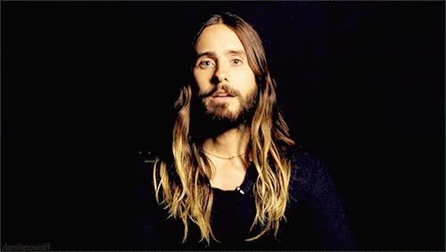 Watch and share Jared Leto GIFs and Celebrity GIFs by Reactions on Gfycat
