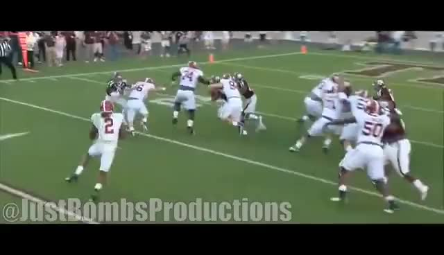 Watch Hardest Hitting Safety in The SEC || Texas A&M Safety Justin Evans Career Highlights ᴴᴰ GIF on Gfycat. Discover more related GIFs on Gfycat