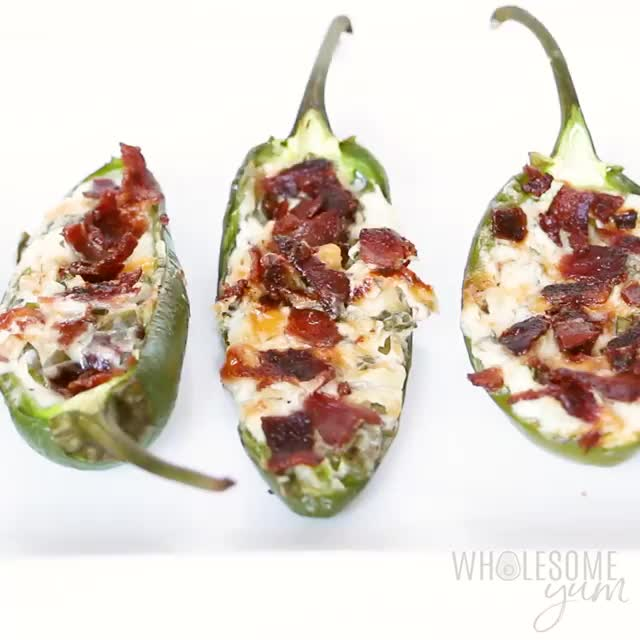 Watch and share Jalapeno Poppers GIFs and Recipe GIFs by Cozy Healthy Recipes on Gfycat