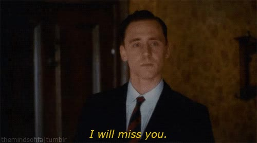 Watch and share Tom Hiddleston GIFs and Missingyou GIFs by Reactions on Gfycat