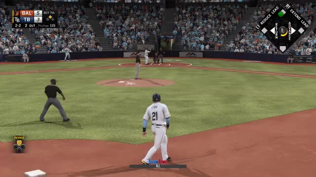 Watch The urgency while down a run is staggering GIF on Gfycat. Discover more mlbtheshow GIFs on Gfycat