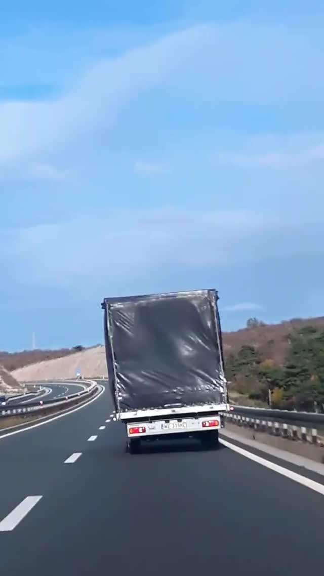 Watch Truck in the wind (reddit) GIF on Gfycat. Discover more related GIFs on Gfycat