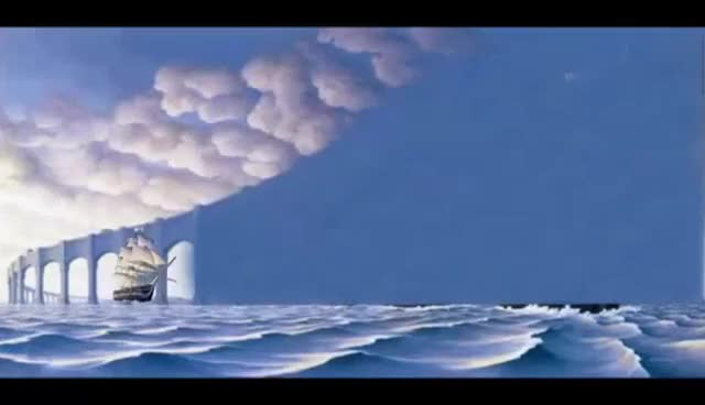 """Watch """"The Sun Sets Sail"""" Rob Gonsalves GIF on Gfycat. Discover more related GIFs on Gfycat"""