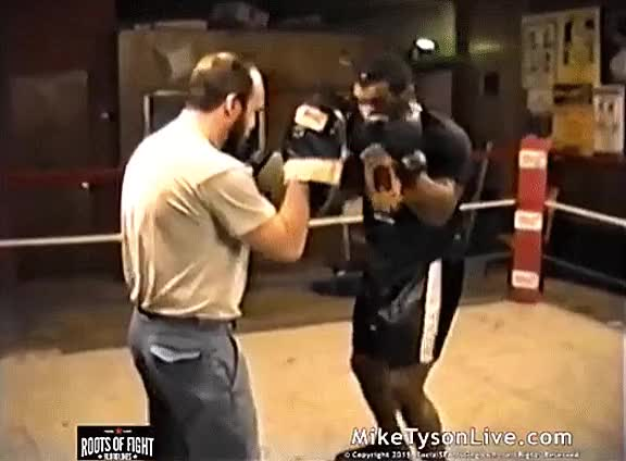 Watch mike tyson training GIF on Gfycat. Discover more related GIFs on Gfycat