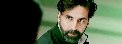 akshay kumar, bollywood, celebs, gabbar is back, he's adorable, i can't get over the first gif, mine, request, bollywood  GIFs