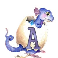 Watch and share Dragon Drache Egg Ei Animated Alphabet Gif Baby Bebe animated stickers on Gfycat