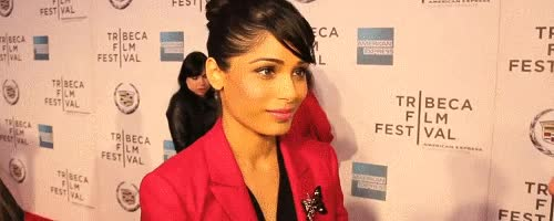 Watch and share Freida Pinto GIFs and Red Carpet GIFs on Gfycat