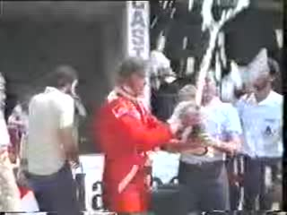 collide, crash, fire, formula, incident, james hunt, motorsport, spin, 1977 Monza Formula1 JamesHunt champagne smash GIFs