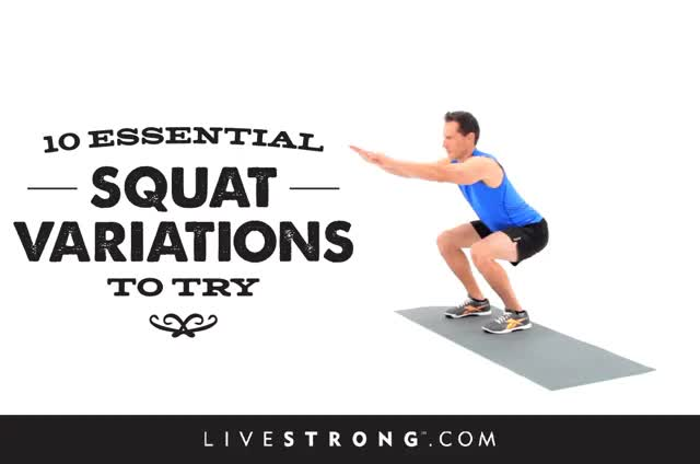 Watch and share 12 Essential Squat Variations To Try GIFs on Gfycat