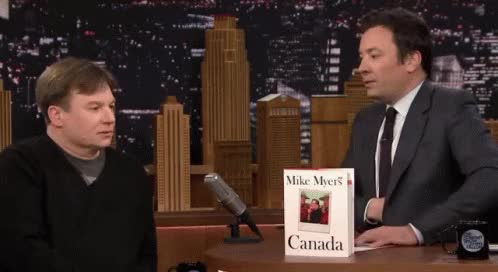 Watch Mike Myers GIF on Gfycat. Discover more jimmy fallon, mike myers GIFs on Gfycat