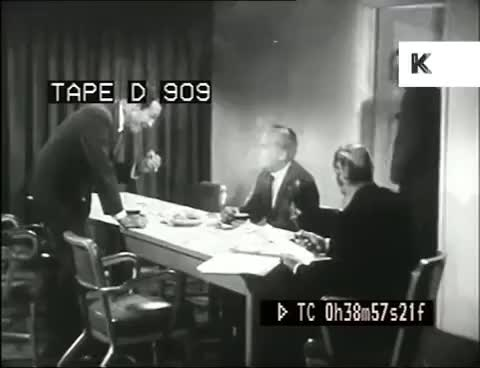 Watch Late 50s Early 60s Business Meeting, Businessmen GIF on Gfycat. Discover more related GIFs on Gfycat