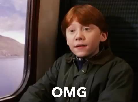 Watch this harry potter GIF by GIF Queen (@ioanna) on Gfycat. Discover more gif brewery, god, harry, harry potter, meets, mouth, my, oh, omg, open, potter, ron, rupert grint, surprised, wizard, wow GIFs on Gfycat