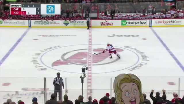 Watch and share Clinton Attends The Devils Game GIFs by dyermakn on Gfycat