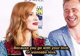 Watch and share Jessica Chastain GIFs and Yahoo Interview GIFs on Gfycat