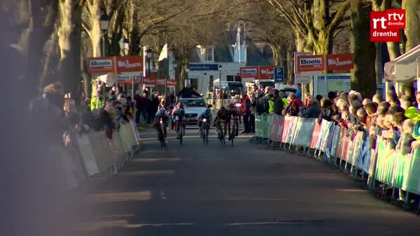 PeopleBeingJerks, nononono, Someone from the crowd interferes with the deciding sprint from a cycling race (reddit) GIFs