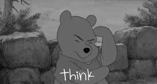 Watch edit GIF on Gfycat. Discover more b&w edit, edit, gif, m, my, rozchwianie, think, winnie the pooh GIFs on Gfycat
