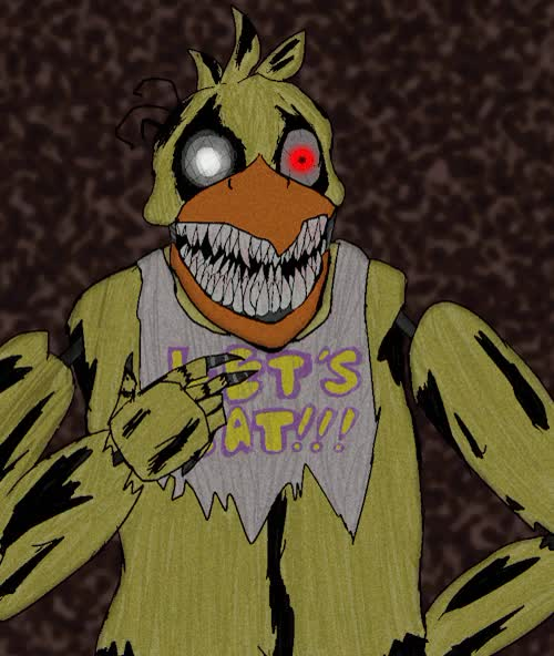 Watch and share Nightmare Chica GIFs and Brent's Art GIFs on Gfycat