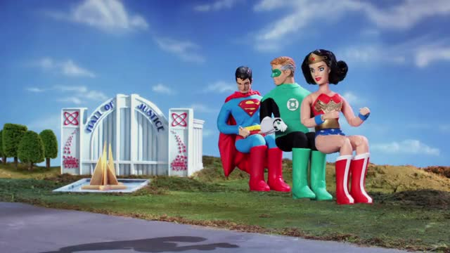 Watch and share NYCC 2013: Robot Chicken DC Comics Special - Aquaman And The Invisible Jet GIFs on Gfycat