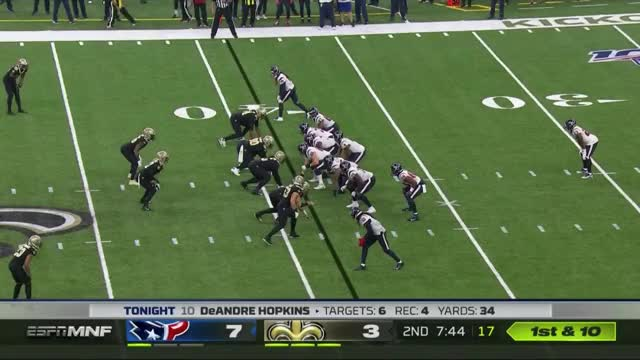 Watch and share 2Q Bell Nearly Intercepts Watson GIFs by nolaplayer93 on Gfycat