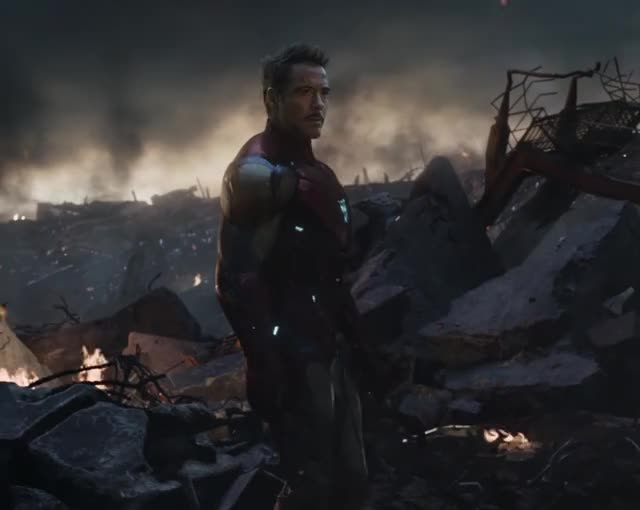 Watch and share Avengers Endgame GIFs and Iron Man GIFs by Ricky Bobby on Gfycat
